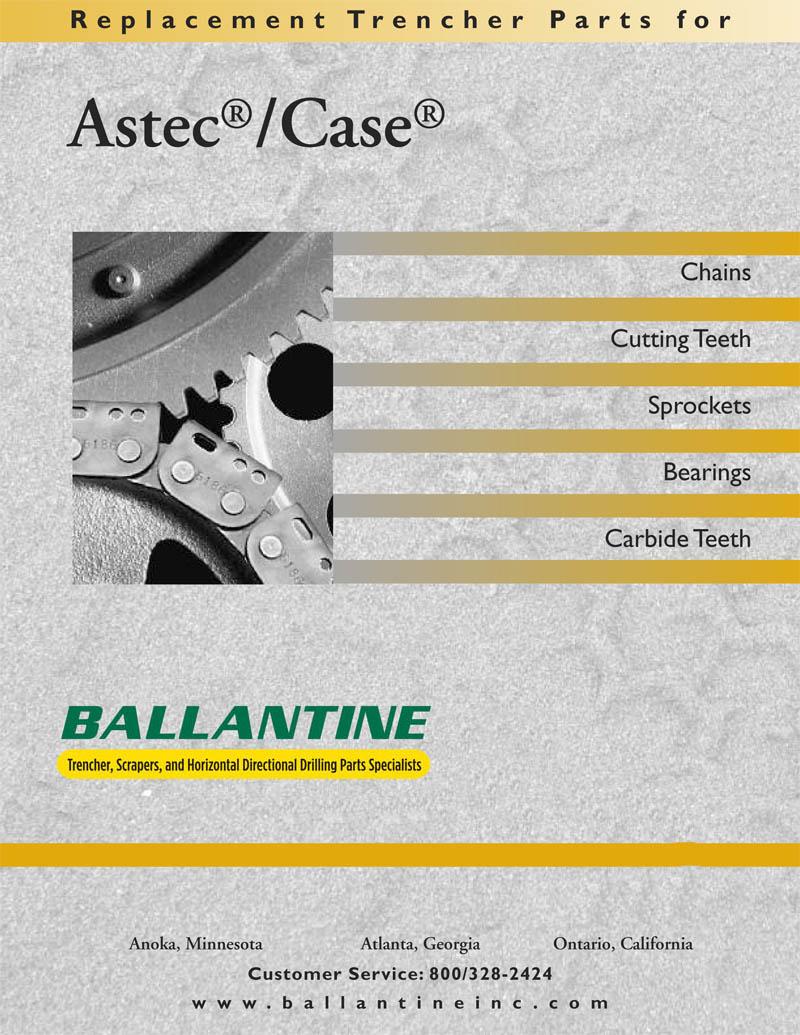astec case · ditch witch
