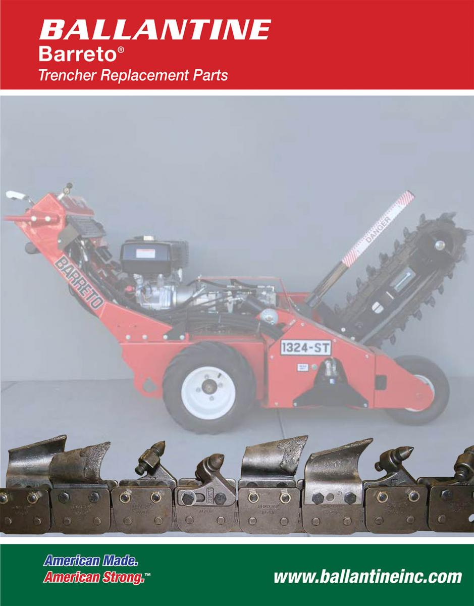 Trencher Parts | Trencher Chain | Trencher Sprockets | Cup Cutter
